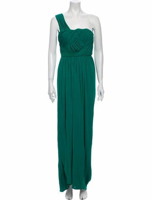 Doo.Ri One-Shoulder Long Dress Green