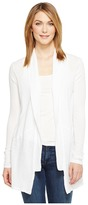 Michael Stars Supima Cotton Slub Shawl Collar Cardigan Women's Sweater