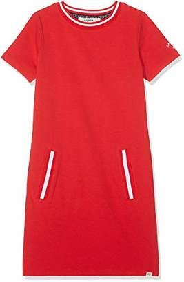 Garcia Kids Girls' A92484 Dress, (Tomato red 2648)