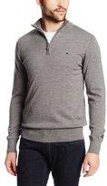 J. Lindeberg Men's Kian Tour Merino Half-Zip Golf Sweater