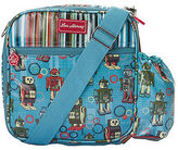 Lou Harvey Australia NEW Insulated Lunchbox Sling in Robot Downey Stripe Print by Lou Harvey Australi