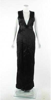 Theyskens' Theory Black Cotton Dress for Women