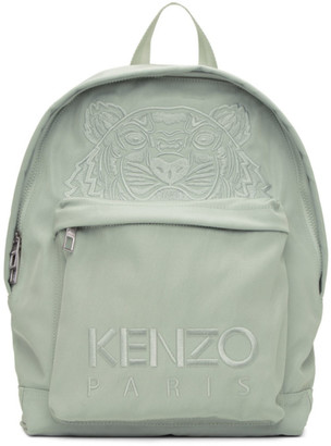Kenzo Grey Kampus Tiger Backpack