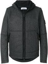 Stone Island hooded zipped up jacket