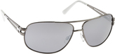 UNIONBAY Men's U932 Aviator Sunglasses
