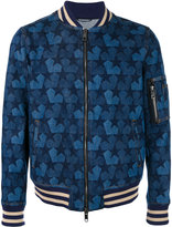 Ports 1961 star denim bomber jacket - men - Cotton - 44