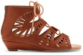 Sole Society Sarge lace-up sandal