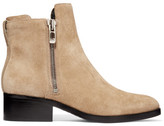 3.1 Phillip Lim Alexa Suede Ankle Boots - Beige