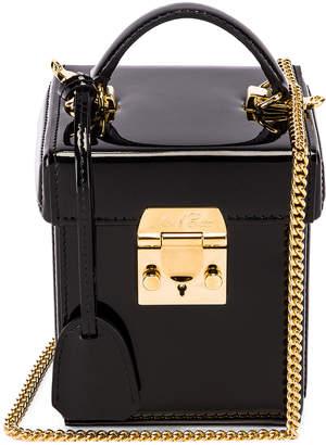 Mark Cross Grace Cube Bag in Black | FWRD