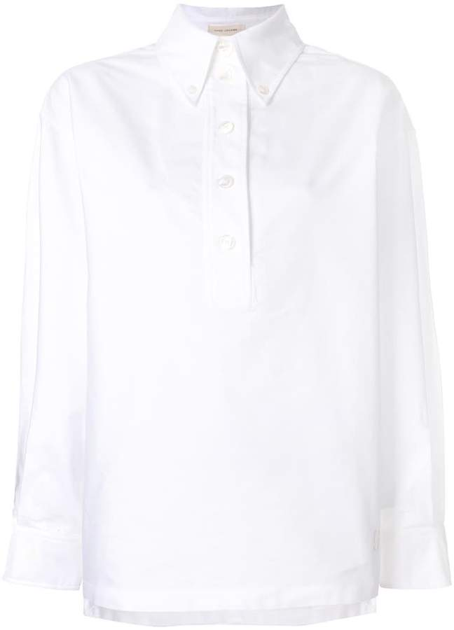 Marc Jacobs oversized collar blouse