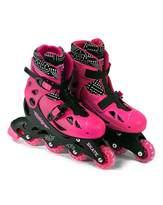 Fashion World Elektra In Line Skates Pink - Medium 13J