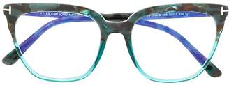 Tom Ford Cat-Eye Square Glasses
