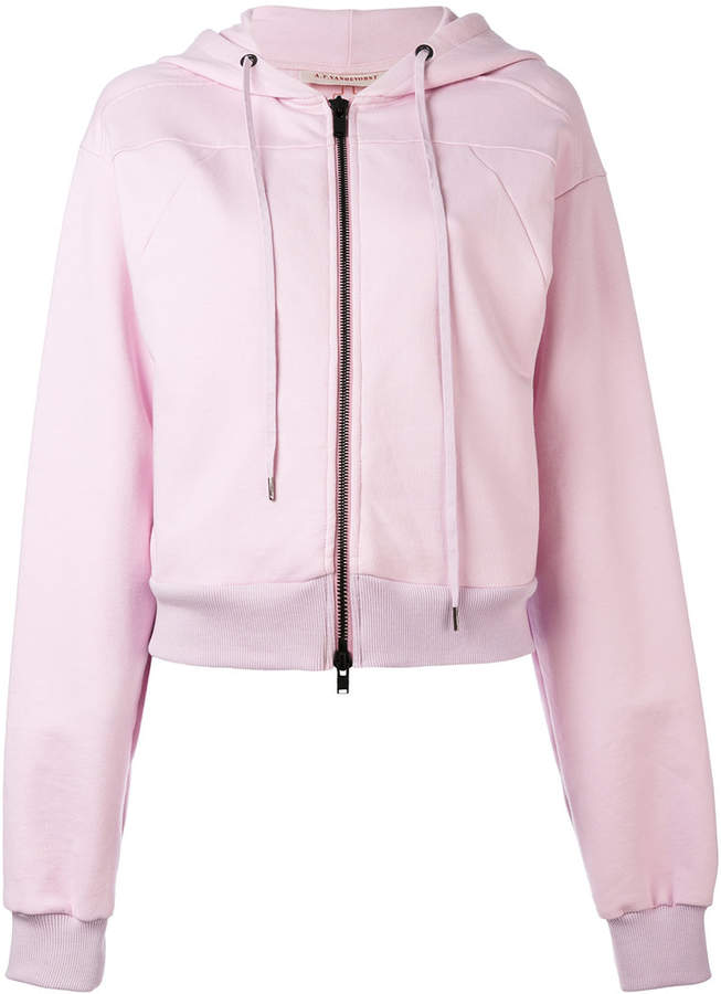 A.F.Vandevorst zip hoodie