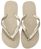 Sandals Top Metallic Flip Flop