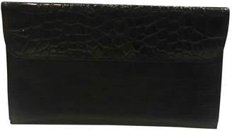 Dries Van Noten Black Leather Clutch bags