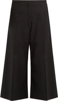 Lemaire Cropped wide-leg wool trousers