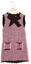 Lanvin Girls' Bouclé Shift Dress