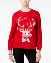 GUESS Roya Reindeer Graphic Sweater