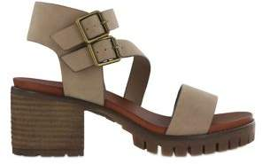 Mia Leyna Faux Leather Heeled Sandals