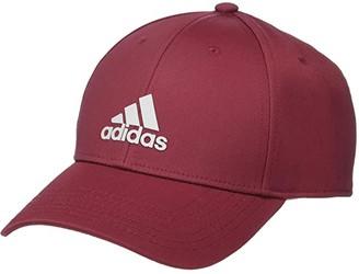 adidas Decision II Cap (Legacy Red/Light Onix) Caps