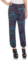 Copper Key Woven Jogger Soft Pants