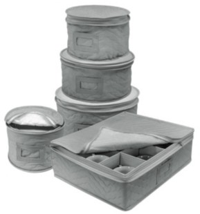 Sorbus Dinnerware Storage 5-Piece Set for Protecting or Transporting Dinnerware