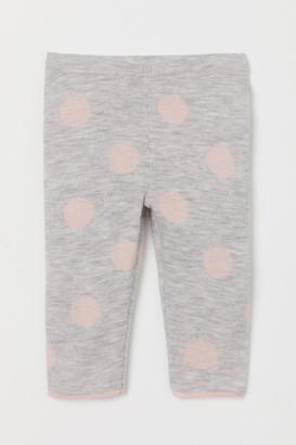 H&M Fine-knit leggings