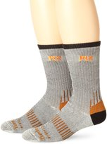 Timberland Men's Crew 2PR PK Cool Touch Blend Sock