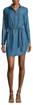 Alexia Admor Chambray Button Up Shirtdress