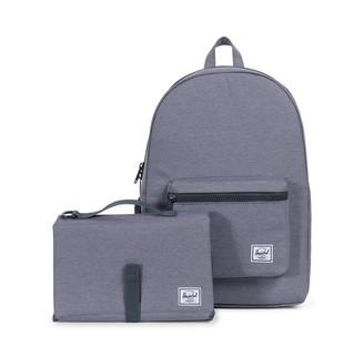 Herschel Settlement Sprout Backpack Diaper Bag Mid Grey Crosshatch