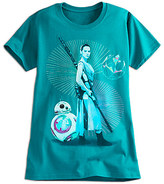 Disney Rey and BB-8 Tee for Women - Star Wars: The Force Awakens