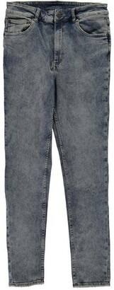 Cheap Monday Light Wash High Rise Skinny Jeans