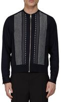 Lanvin Zip-Up Embroidered Jacket