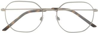 Dolce & Gabbana Eyewear Round Geometric Glasses