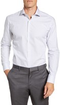 Ted Baker Castmed Trim Fit Dress Shirt