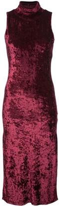 Caroline Constas sleeveless mock neck dress