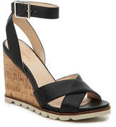 Nine West Women's Gilly Wedge Sandal -Black