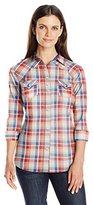 Wrangler Women's Rock 47 Long Sleeve Woven Shirt