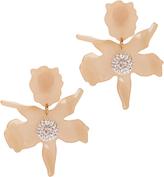 Lele Sadoughi Crystal Lily Blush Earrings