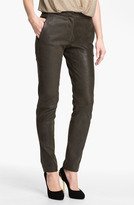 L'Agence Stretch Leather Leggings