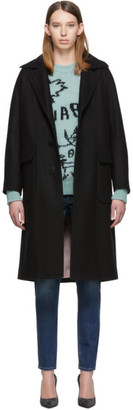 DSQUARED2 Black Alberta Coat