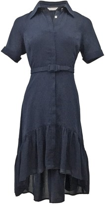 Nanette Nanette Lepore Quarter Sleeve Lace Shirtdress