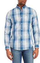 Original Penguin Chambray Plaid Button-Down Shirt