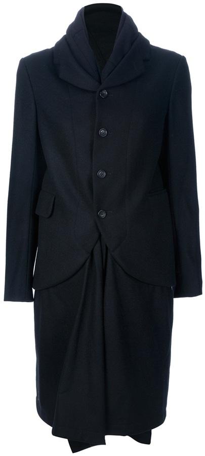 Comme des Garcons double-layered coat