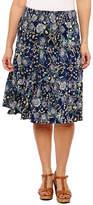 ST. JOHN'S BAY Sjb Flip Flop Skirt Full Skirt