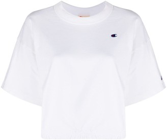Champion crewneck cropped T-shirt