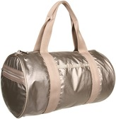 Le Sport Sac Round Shoulder Duffel (Pearl Lightening) - Bags and Luggage