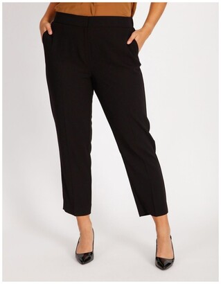 Basque Straight Leg Suit Pant