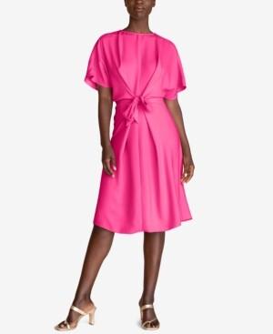Trina Turk Implied Tie-Front Dress