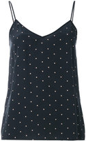 Equipment dotted tank top